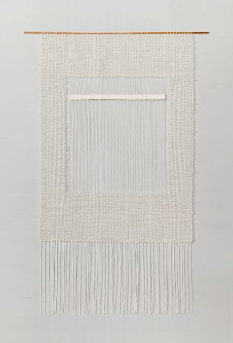 What we love most from Brook & Lyn are their delicate, simple weavings. No easier way to let some calm wash over you. // via BROOK & LYN