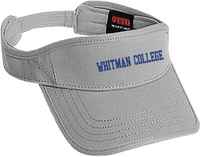 Whitman College Fighting Missionaries Embroidered Visors $19.96