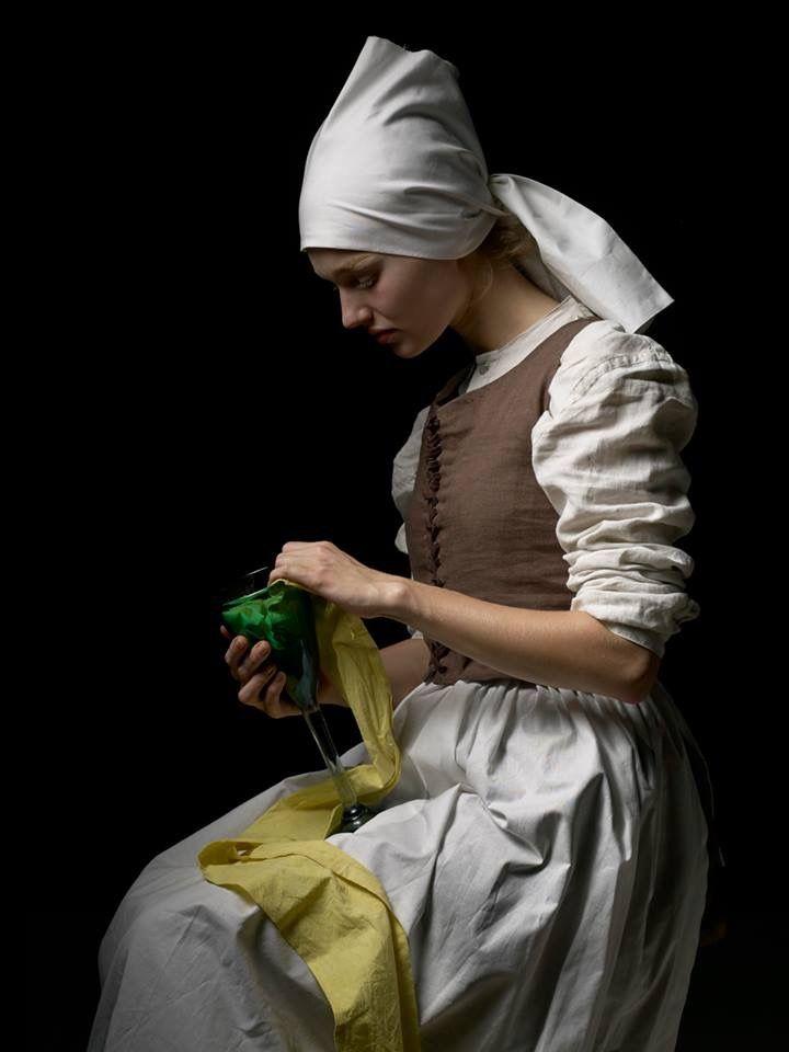 Jan Vermeer inspired photo shoot.  Makeup, Styling & Costume Design Memo Schmage, Photographer Reinhard Scheuregger, Model Samara Insel  Copy is the best form of flattery    #girlwithapearlearring #makeupartist @memo_schmage #styling #Makeup #nudemakeup #costumedesign #artwork #janvermeer #17thcentury #pearl #Berlin #xoxo #picoftheday #followme #thankful #photooftheday #great #photographer #gorgeous @mara_vion #thankfull #model #gorgeous #stylist #turbant