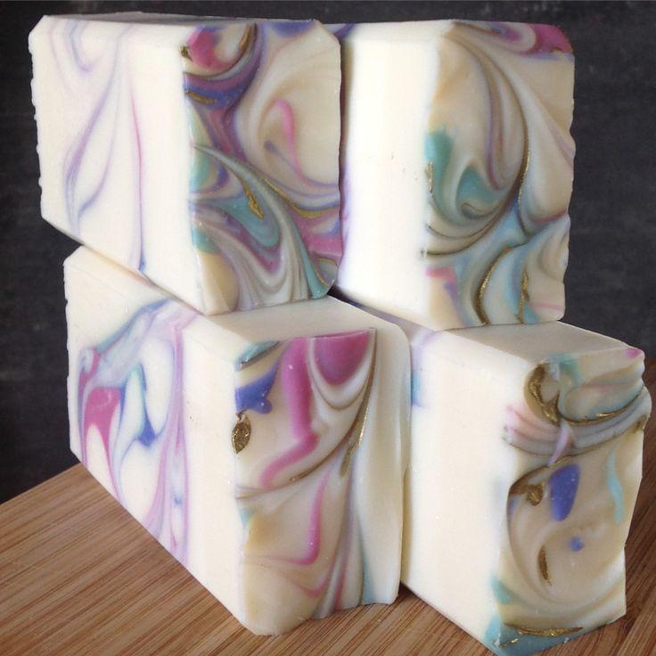 Håndlaget såpe med lavendelduft, Lavender soap