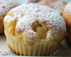 muffin alle mele con yogurt, leggerissimi