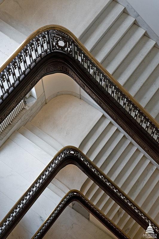 US Senate Russell Building Stairway DetailsCapitol Hills, American History, Buildings Stairways, Contemporary American, Album Artworks, Places, Cap Album, Architecture Details, Artworks Concept