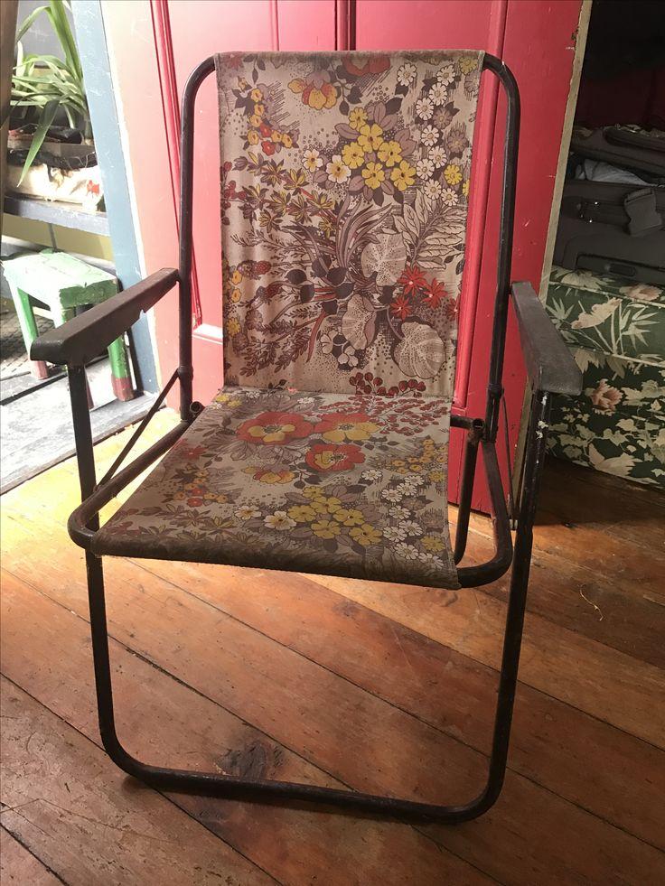 Retro deck chair