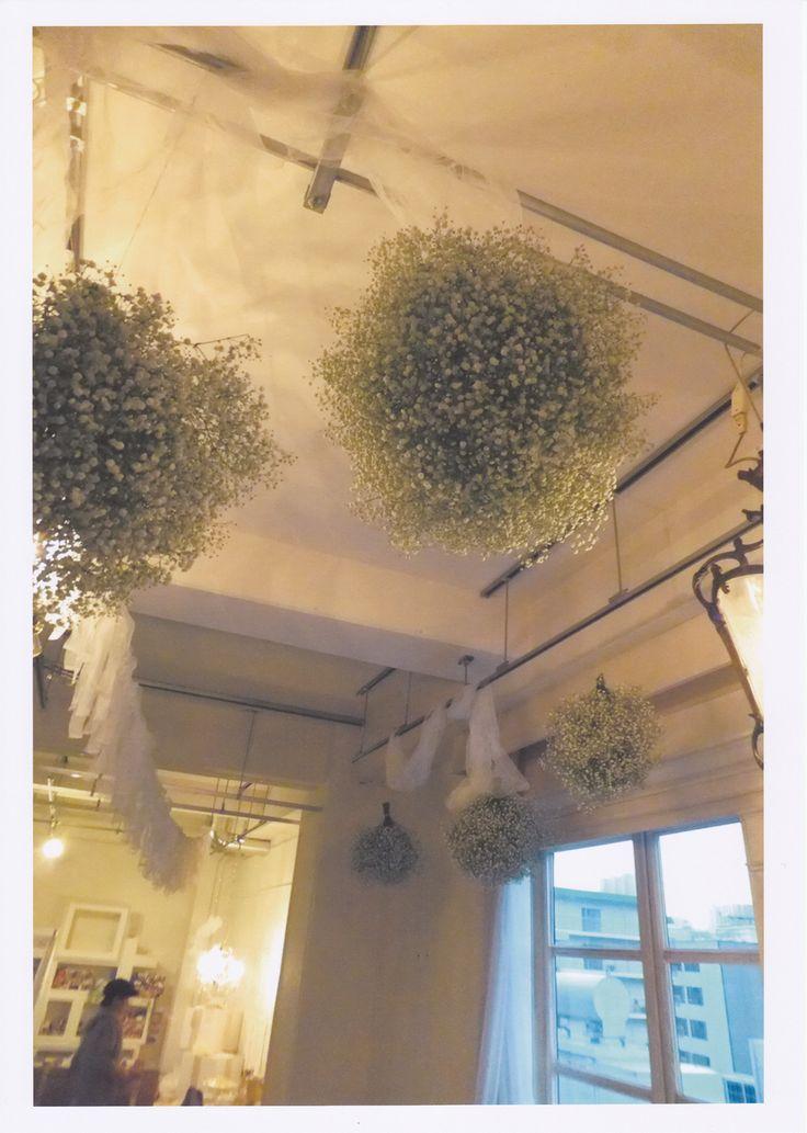 かすみ草,白をテーマの結婚式 - オリジナルウェディング・フラワー コンセプトウェディング・フラワー専門店 花屋福太郎