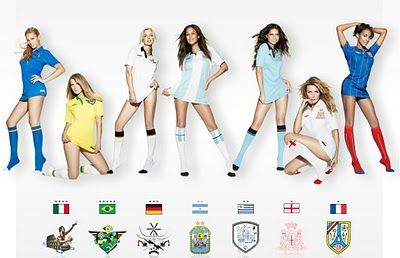 Girls of the World Cup