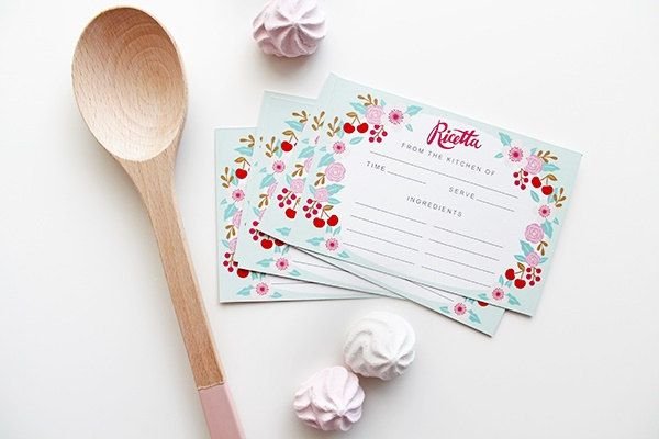 Un preferito personale dal mio negozio Etsy https://www.etsy.com/listing/252370967/recipe-cards-set-of-10-kitchen-made-in