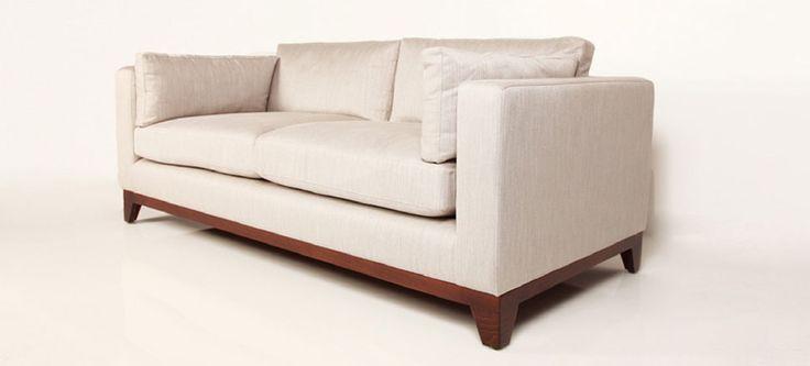Epsom Sofa in Romo Arden - Platinum Herringbone