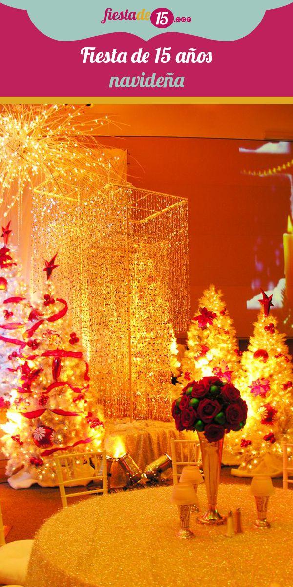 ¡Bienvenida la Navidad! Esa época del año es maravillosa y llena de celebraciones por todos lados, así que si tu cumpleaños coincide con la fecha decembrina una magnífica idea es que aproveches el ambiente festivo para realizar tus 15 años junto a tus padres, familiares y amigos más queridos. Celebra la llegada del Niño Jesús y llena tu noche de guirnaldas, árboles de navidad y villancicos.
