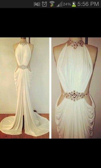 dress jewels roman style high neck jewel belt