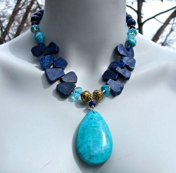 Turquesa y lapiz lazuli