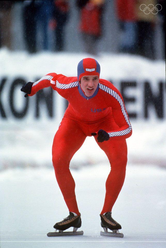 1980:  SPEED SKATER ERIC HEIDEN