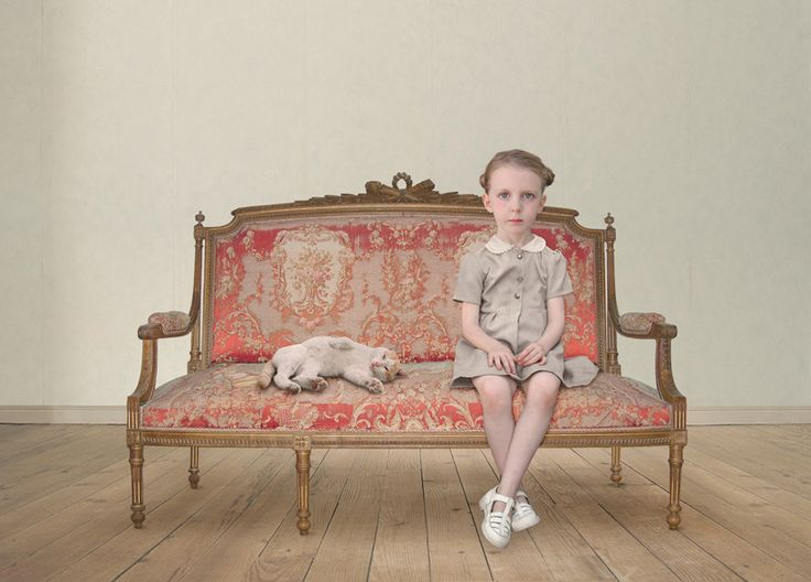 Photo by Loretta Lux... One of the most intriguing photographers out there...