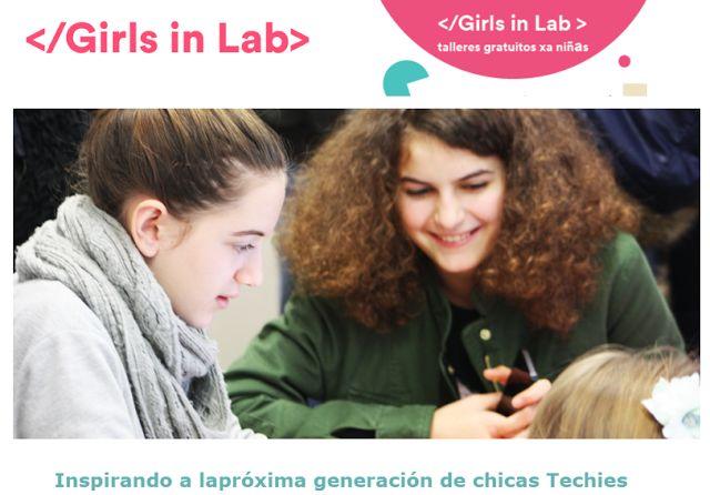 """Crea y aprende con Laura: @GirlsInLab """"Inspirando a la próxima generación de..."""