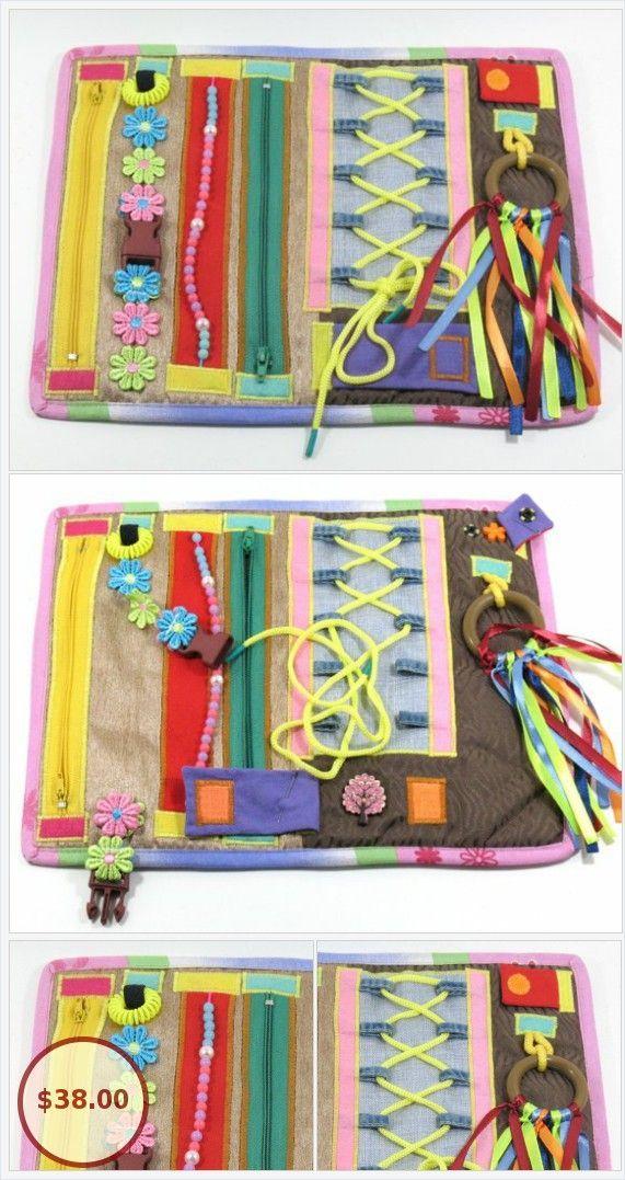 Adult Fidget Lap Quilt Baby Toys Sensory Eco Activity