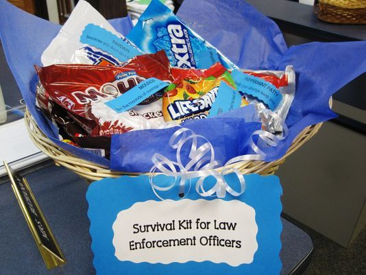 ideas for thank a police officer day - Google Search