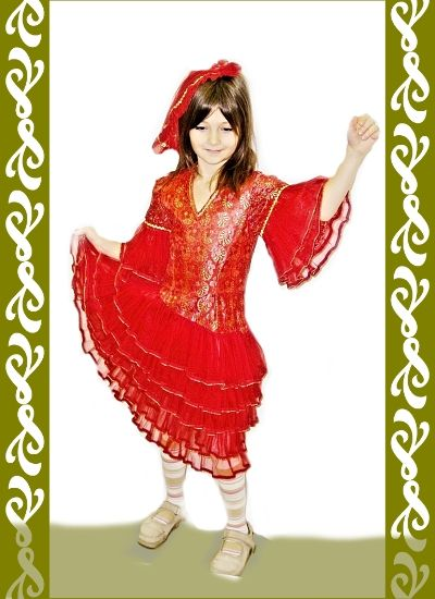 kostým Španělka, půjčovna Ladana