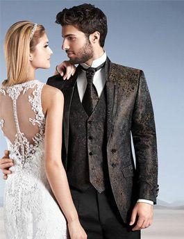 Eleganter WILVORST Anzug für den Bräutigam.