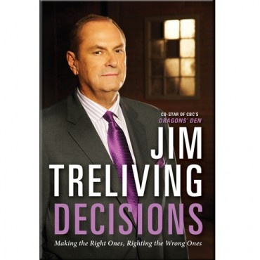 Autographed by Jim Treliving Jim Treliving is a police officer turned pizza king. An affable prairie boy, he took the leap from the RCMP and started to build a global empire. In his first book, Jim shows why today, he's not only surviving, he's thriving in a volatile 20th-century global market.