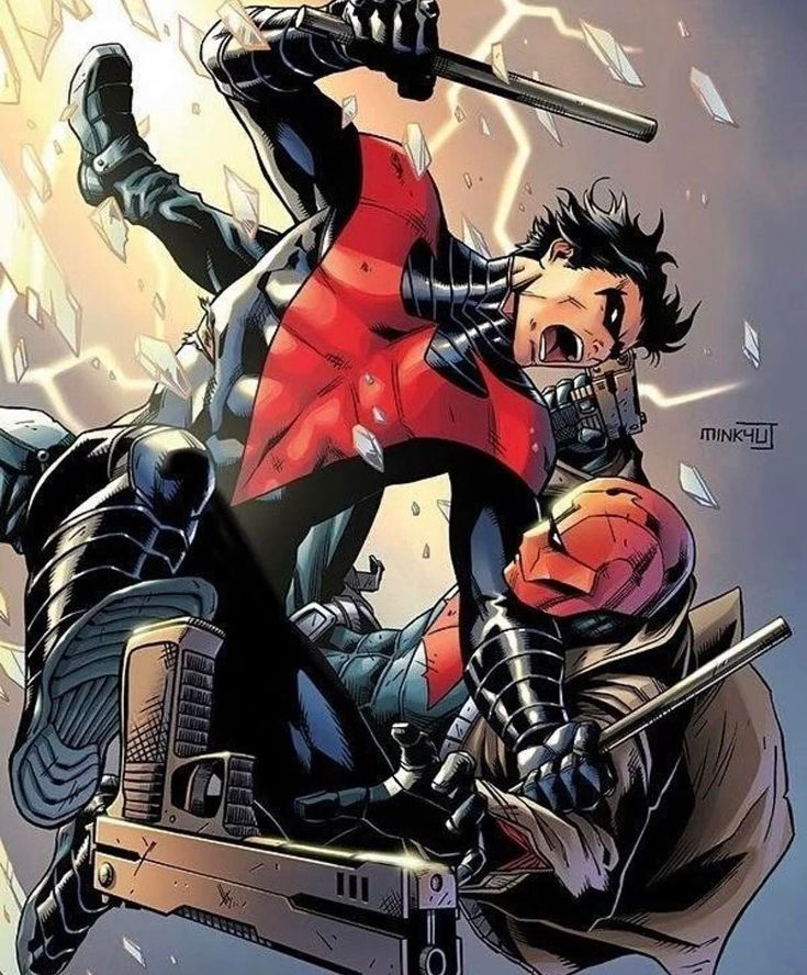 Anti Heroes Comic Books