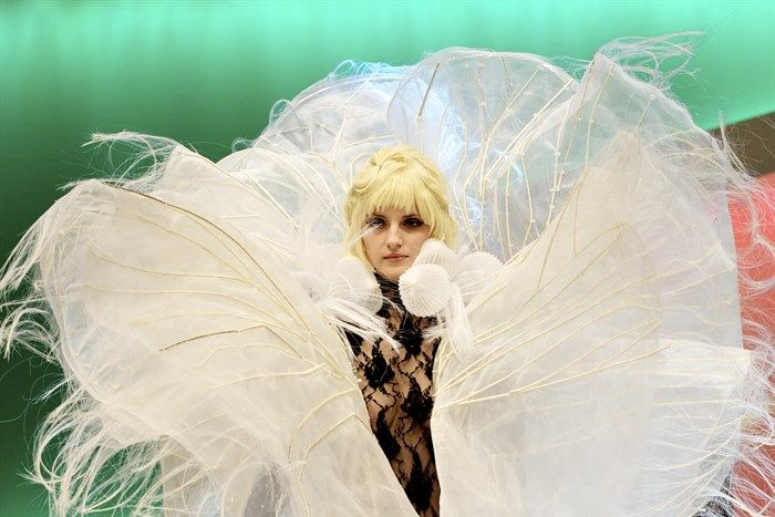'Palisade' | Green Universe | Couture Collection | SS13 | Melbourne Spring Fashion Week 2013