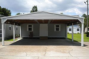 Pinterest the world s catalog of ideas for Carport with shed attached