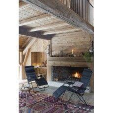 Lafuma Futura Air Comfort Acier/Dark Grey Reclining & Foldable Sun Chair