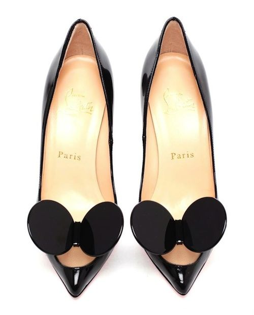 Crazy for Christian Louboutin's Madame Mouse pumps