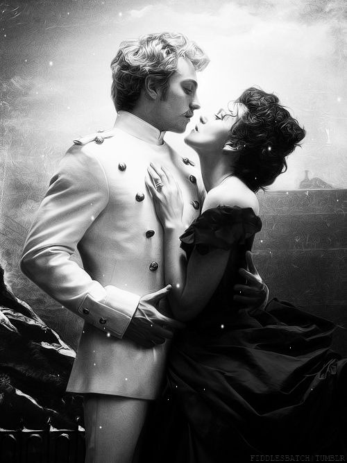 "Kiera Knightley as Anna Karenina and Aaron Taylor-Johnson as Count Alexei Vronsky in ""Anna Karenina"" (2012)"
