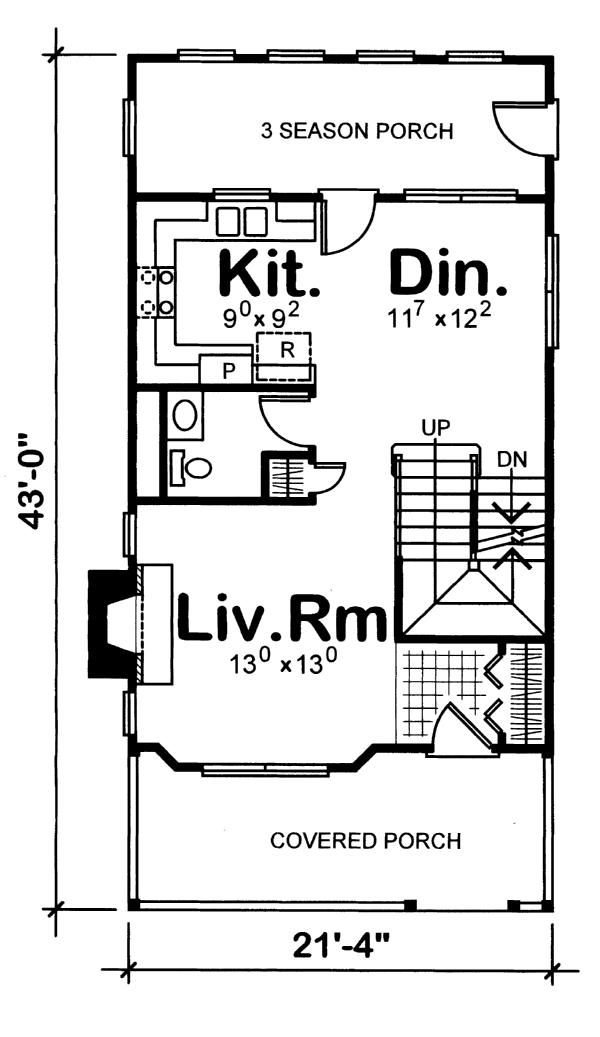 New House Plan Hdc 1297f 33 Is An Easy To Build Affordable 3 Bed