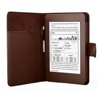 Puzdro 842 s prackou pre Amazon Kindle Paperwhite, hnedé