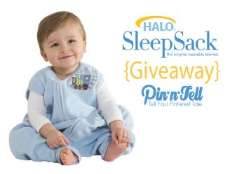#Win a #HALOSleepSack for SIDS Awareness Month @Pin-n-Tell.com aka Jen :)