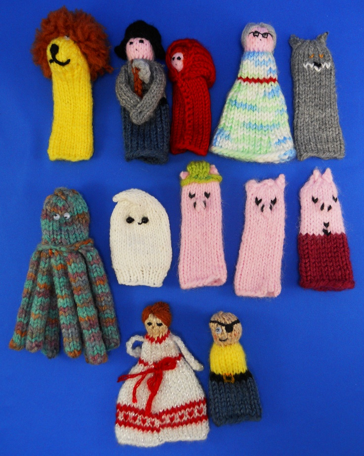 Knitting Patterns Toys Finger Puppets : 52 best images about Knitting Fingerpuppets on Pinterest Jungle animals, Au...