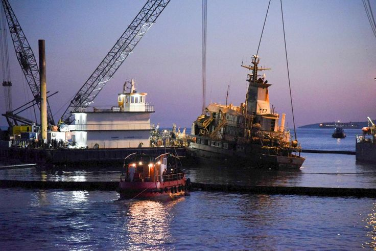 Agia Zoni II Ship Raised, Investigation Continues