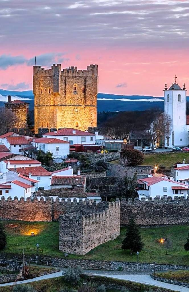 Bragança walled town and castle ~ northeren Portugal