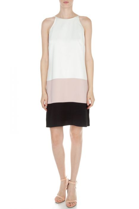 #despinavandicollection Mini color-block dress