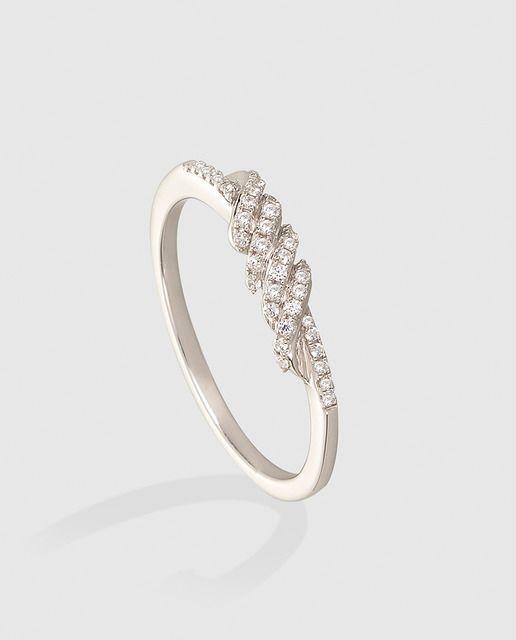 d3d1b1c1e657 Anillo El Corte Inglés My Wedding de oro blanco y diamantes en 2019 ...