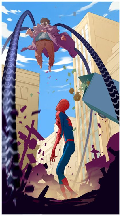 Doc Oc vs Spiderman