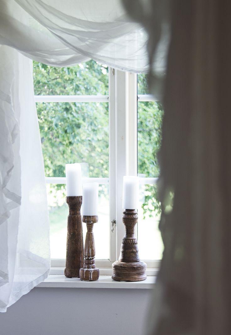 Bedroom details, vintage candleholders, snowdrops copenhagen