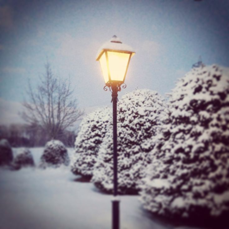 Belysning, vinter