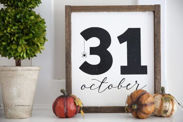 31. Oktober Halloween Zeichen   – october