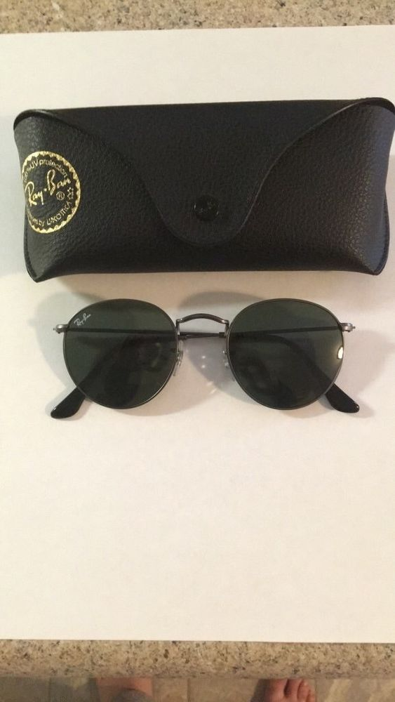 19b5c9613bd5 Rayban Round Metal Sunglasses  fashion  clothing  shoes  accessories   unisexclothingshoesaccs  unisexaccessories (ebay link)