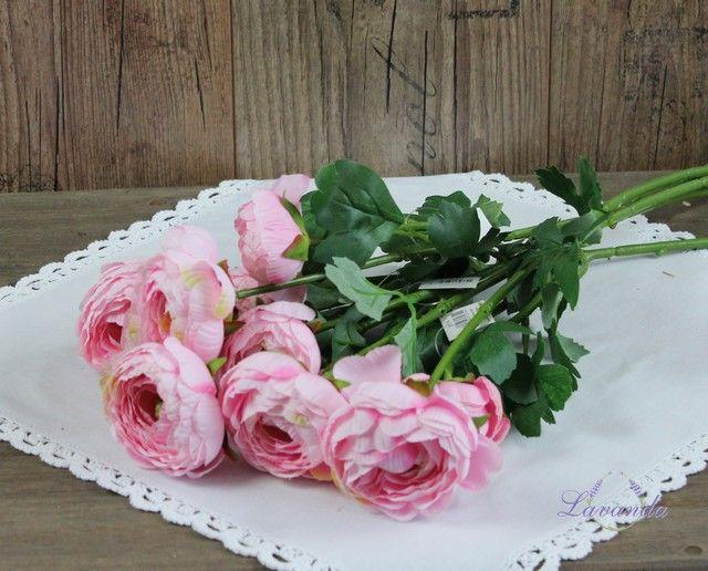 Umelý kvet, kvet Iskerník, ružová, umelé kvety, dekorácia kvet, dekorácia kvety, do vázy