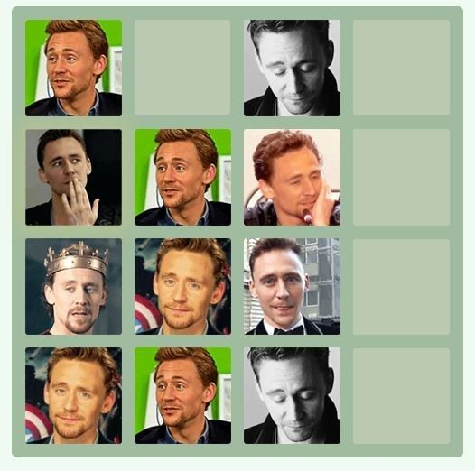 This is so addicting! and I mean, Tom Hiddleston GIFS?!  25 Fantastic Themed Versions Of The 2048 Game To Fuel Your Addiction
