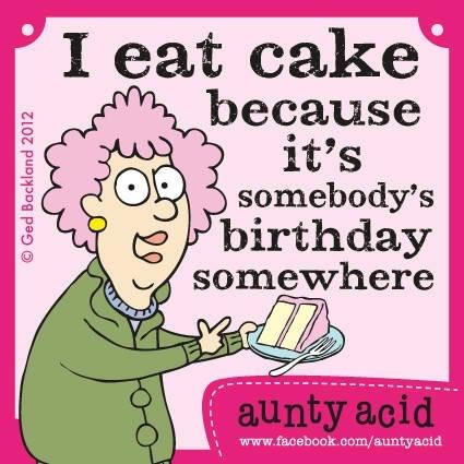 Aunty Acid Cake Ideas