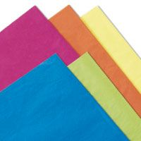 Tissue Paper Assortments: Looking for many colors of tissue paper all in one package? Our tissue paper assortment packs come with assorted colors and are perfect if you want variety. Browse wholesale tissue paper options.
