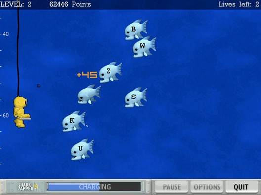 Here is a game that students can play online to work on their typing skills. It is important for students to continue to work on their typing skills because they may not get that much instruction in school. This game is called Typer Shark and the goal is to not get eaten by the fish and sharks. This makes typing fun and not like a class. Students could even play this during indoor recess. -Megan Bradshaw