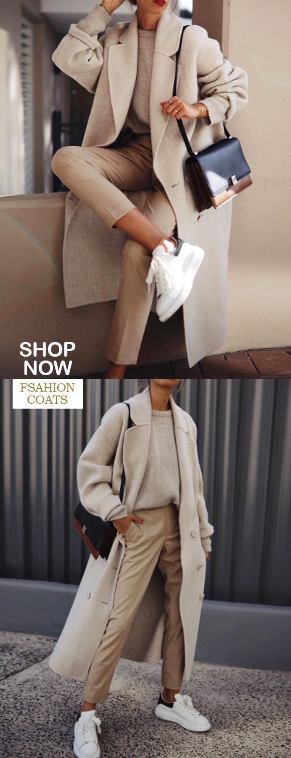 [New In] British Qingguo collar coat