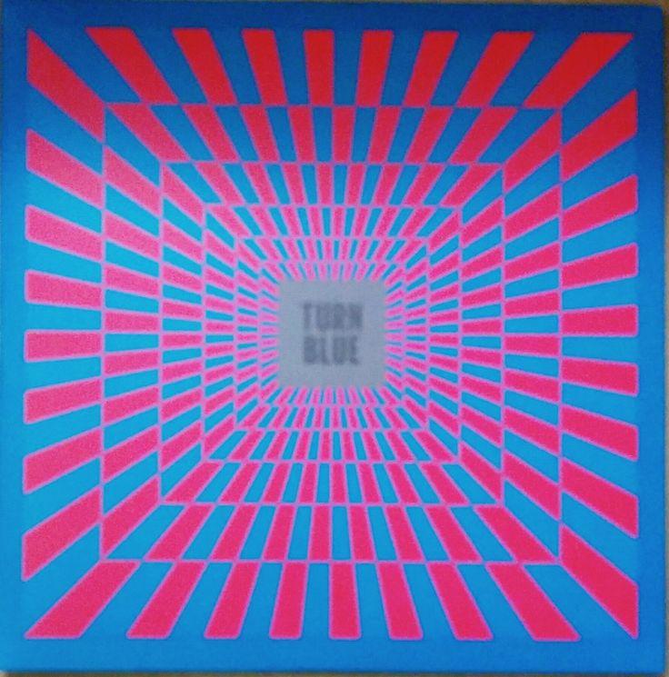 Turn Blue Record Sleeve