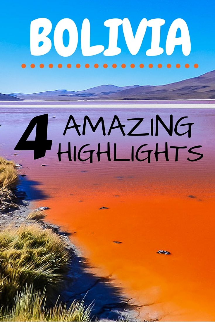 Bolivia is an out of this world country. The Andes Mountains, the Amazon Basin, the world's largest salt flat, the worlds largest high altitude lake, volcanoes.....the list goes on. In this post we talk about 4 of our many Bolivian #highlights.