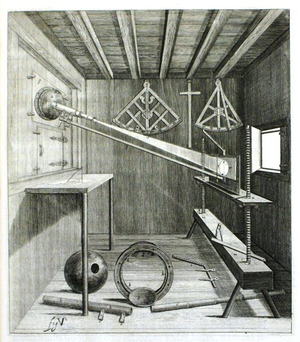 Johannes Hevelius, Machinae coelestis (Danzig, 1673), Fig V.